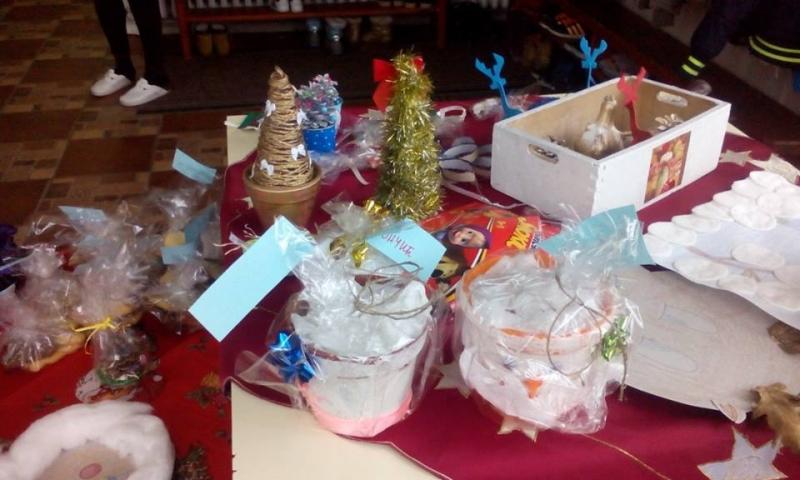 Божићни сајам у вртићу