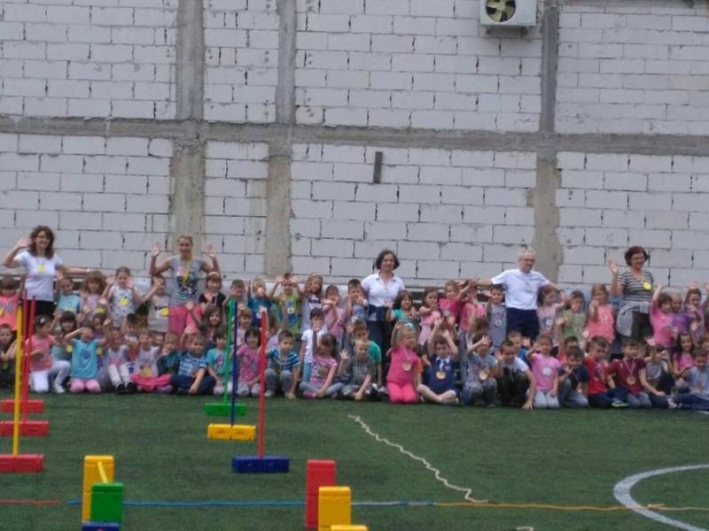 Дечја спортска олимпијада - 1. дан