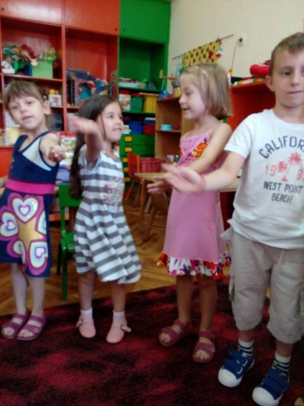 Музичке активности у вртићу