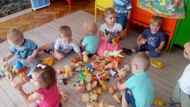 Именовање играчака у млађој јасленој групи