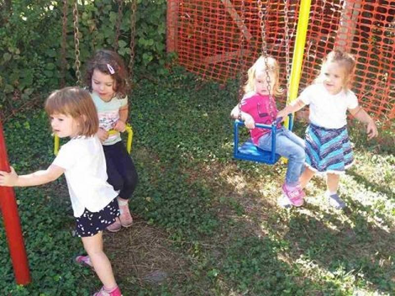 Слободне активности у дворишту
