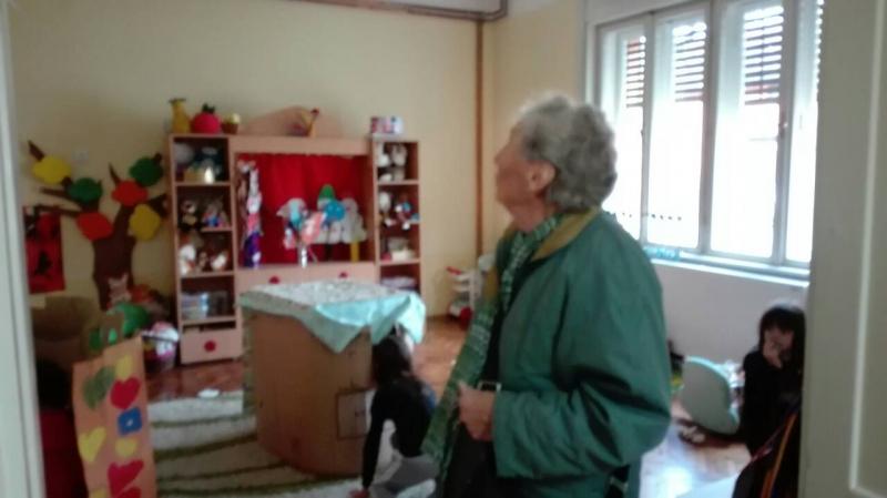 Ана Ђанић у посети објекту