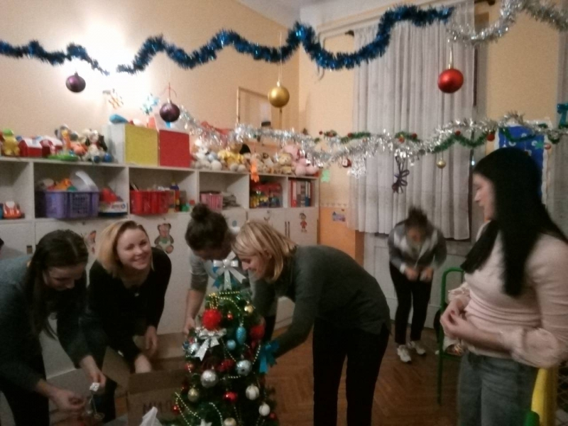 Новогодишња радионица у вртићу