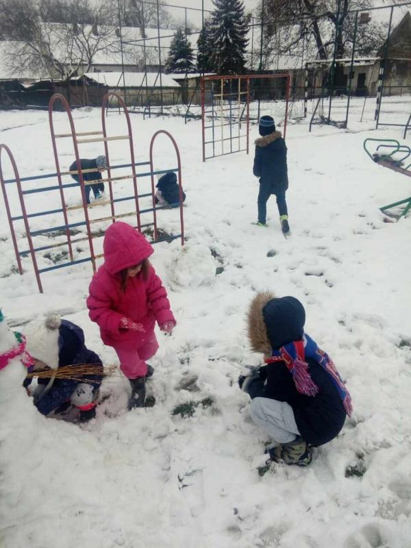 Зимске игре у вртићу
