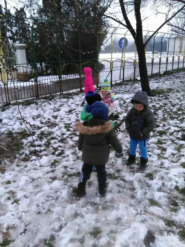 Зимске активности на снегу