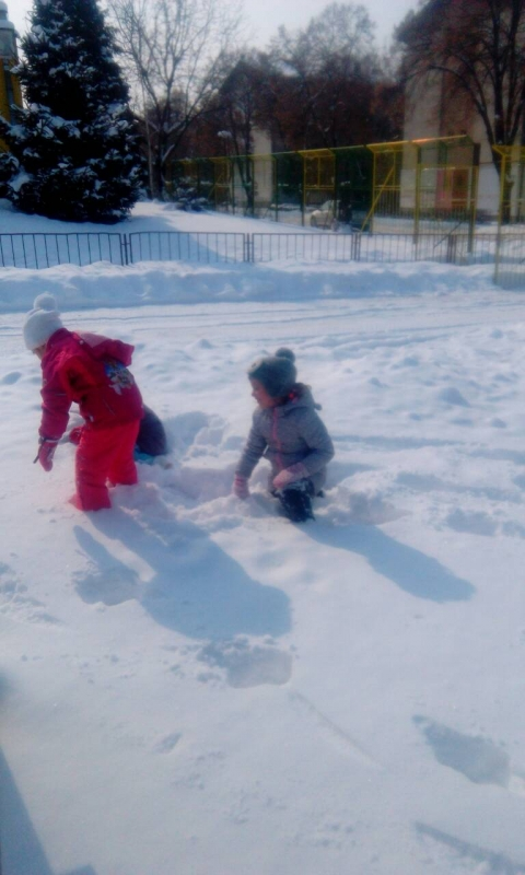 Активности на снегу
