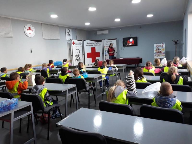 Посета Црвеном Крсту