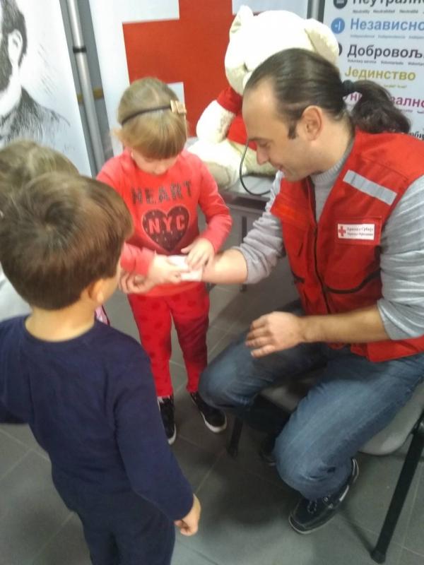 Сарадња са Црвеним Крстом