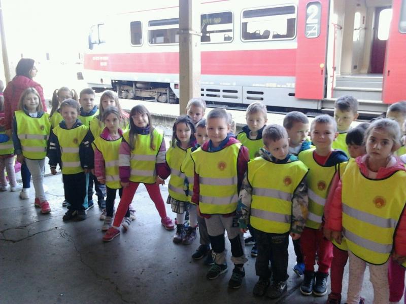 Посета железничкој станици