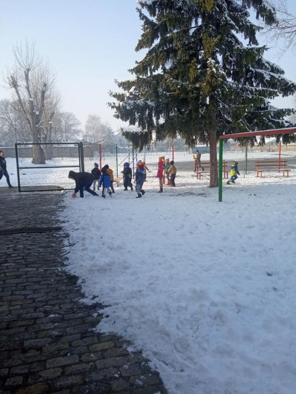 Зимске активности у објекту