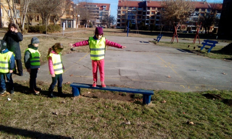 Моторичке активности у оквиру пројекта