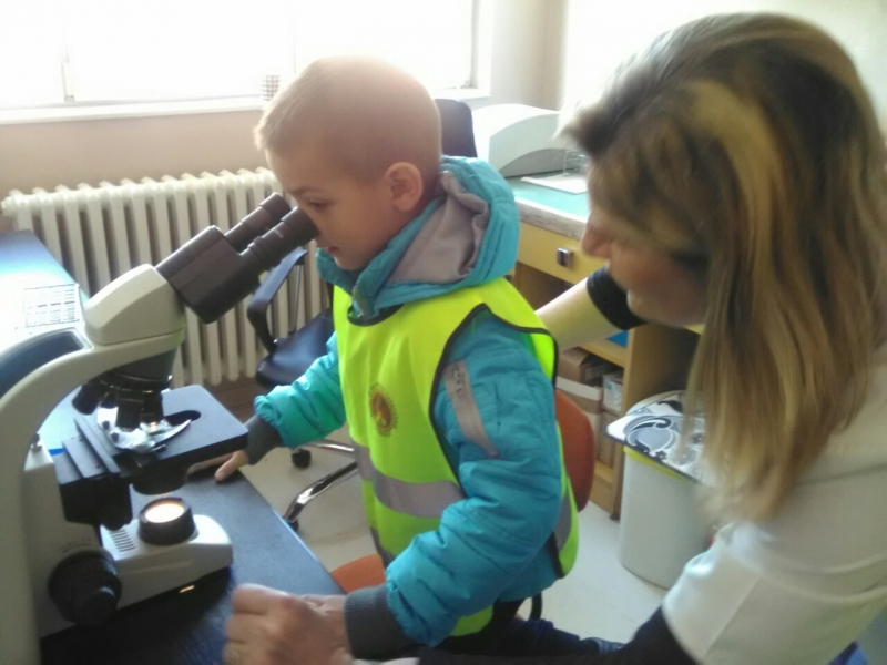 Посета лабораторији