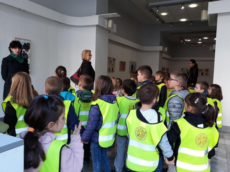 Посета галерији