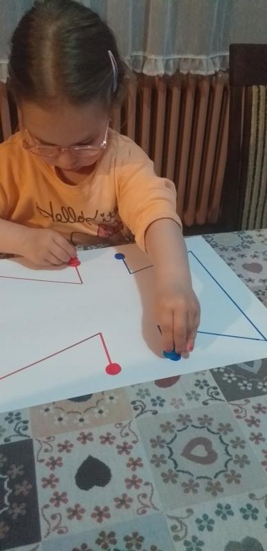 Црвена и плава линија